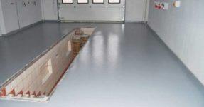 Plancher en vrac pour le garage: quel est le meilleur choix