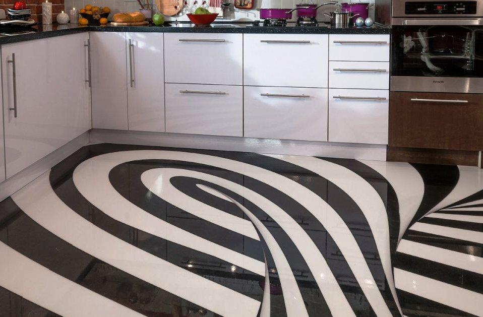 10 matériaux pour la finition des sols dans la cuisine