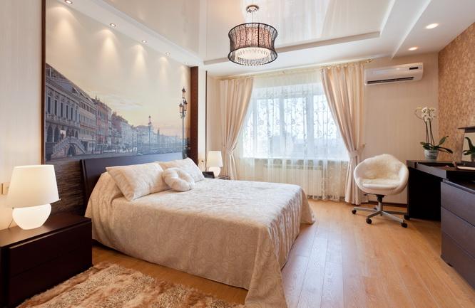 12 matériaux pour décorer le plafond de la chambre
