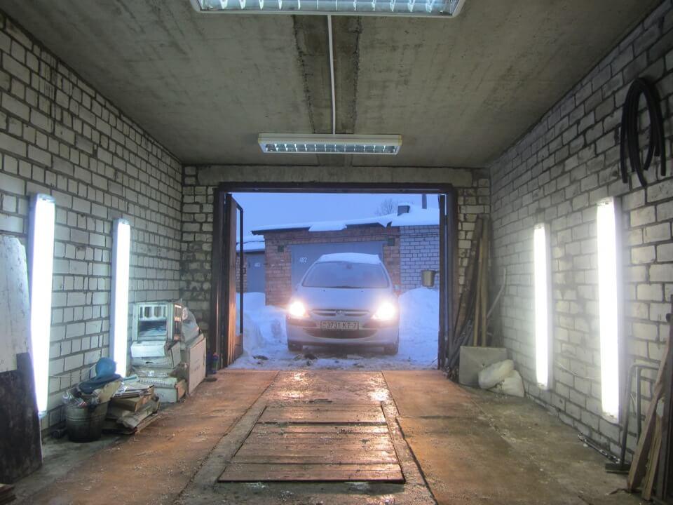 6 conseils d'éclairage de garage