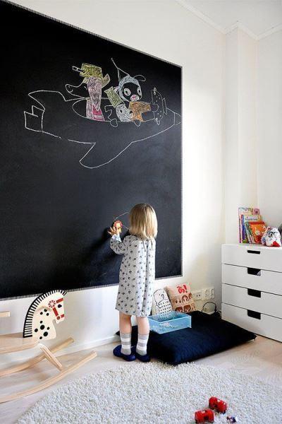 décoration murale en ardoise enfant 5
