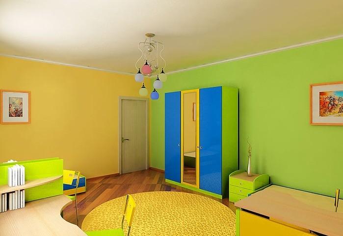 décoration murale en peinture pour enfants