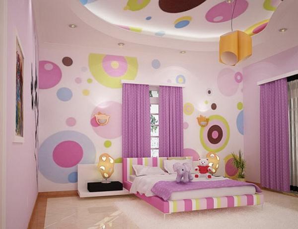décoration murale en papier peint pour enfants