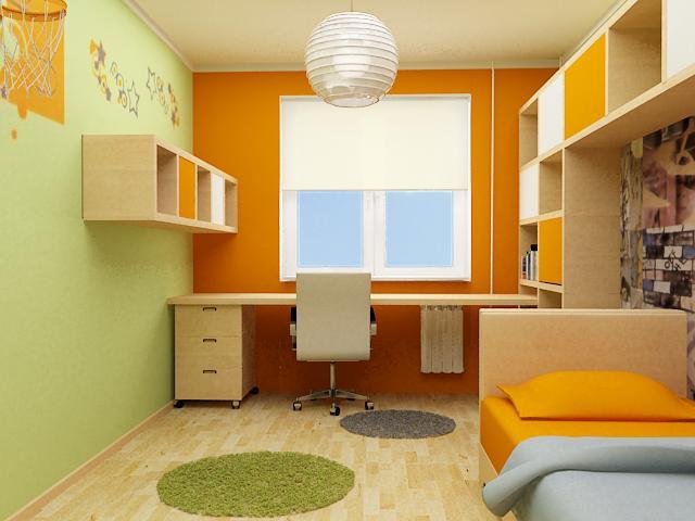 Étapes de la réparation d'une chambre d'enfant