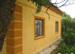 plâtre pour la façade de la maison 2