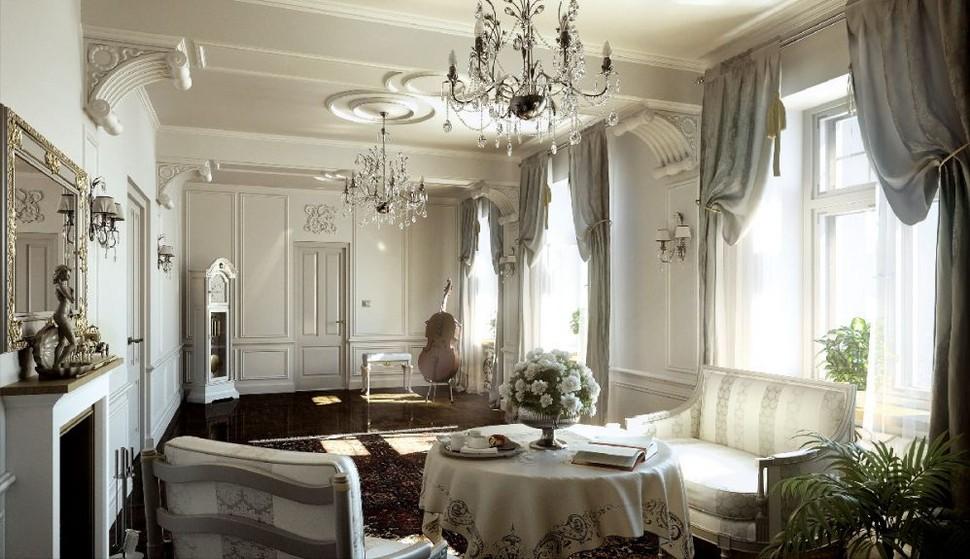 style classicisme à l'intérieur