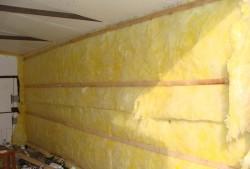 isoler le garage de l'intérieur avec de la laine minérale 2