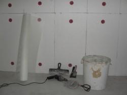 Isolation du garage de l'intérieur en polystyrène 2