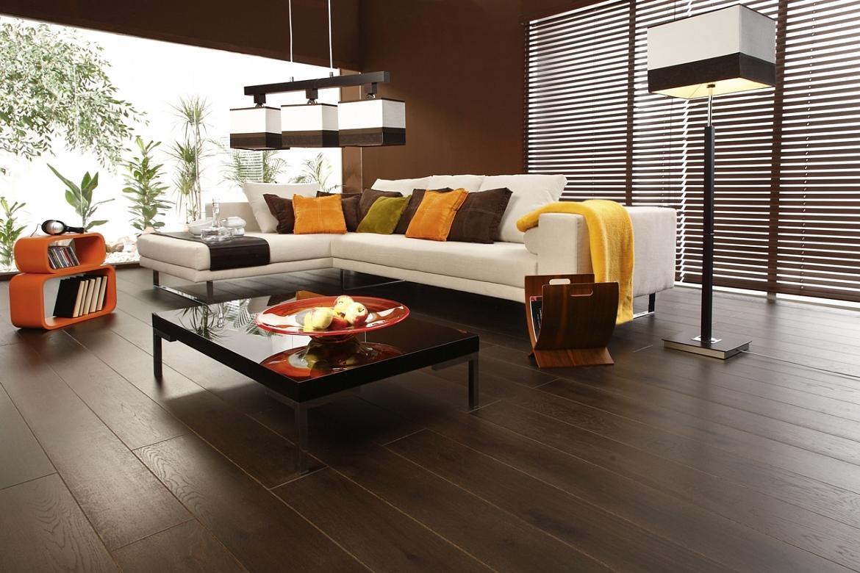 11 matériaux pour la finition du sol dans le salon